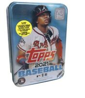 2021 Topps Series 1 MLB Baseball RANDOM Tin Trading Cards SEALED NEW SHIPS NOW✅