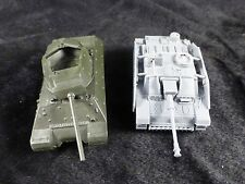 1/72 WWII German Stug III Assault Gun + US M10 Tank Destroyer assemblés Modèles