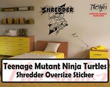 Teenage Mutant Ninja Turtles The Shredder Wall Vinyl Sticker