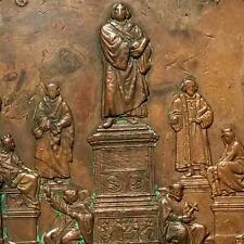 GERMAN STATE 1868 Bronze Medal MARTIN LUTHER MONUMENT DENKMAL WORMS Schnitzspahn