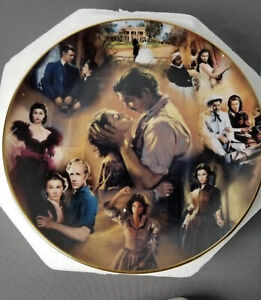 Gone With The Wind Scarlett Bradford American Classic Story Of Passion Plate
