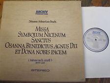 198 190/92 Bach Mass in B minor / Richter etc. 3 LP box