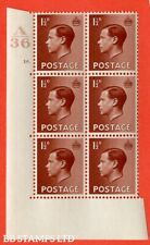 """Sg. 459. P3. 1½d Red-brown. A superb Unmounted Mint. """" Control A36 cyli B14815"""
