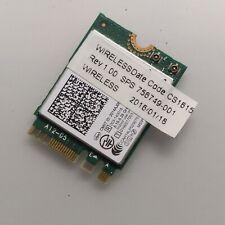 Hp Elitebook 840 G2 Laptop Wireless-N Wifi & Bluetooth 4.0 Adapter 756749-001