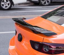 Seagull Gloss Black Rear Tail Trunk Spoiler Wing Lip Trim For Mazda 3 2016-2021