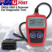 OBDII OBD2 Car Fault Code Reader Scanner MS309 Diagnostic Scan Reset Tool AU