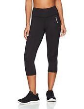 Pantalons et leggings de fitness noirs Reebok pour femme