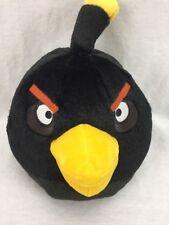 "Black Angry Birds Stuffed Animal 10"""