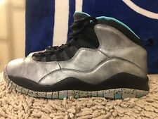 Nike Air Jordan X 10 Retro ASG Lady Liberty, 705178-045, Teal, Men's Size 10