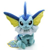 VAPOREON  pokemon Soft Plush Toy Doll Stuffed Animal Doll toy 17CM New
