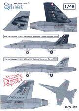 Syhart Decals 1/48 McDONNELL DOUGLAS F/A-18C HORNET Swiss Air Force 2010