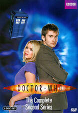 (Item #8-Ho) Doctor Who Second Series Brand New Dvd Set Free Shipping