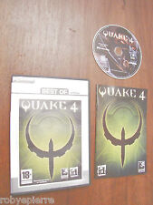 pc dvd rom QUAKE 4 2005 id software activision raven BEST OF in italiano