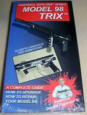 Tippmann Model 98 Paintball Gun Tech Trix Video Vhs Repair tricks parts kit tech