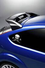 2X JACKASS SKULL car/laptop stickers/decals  VINYL Surf VW t4 t5
