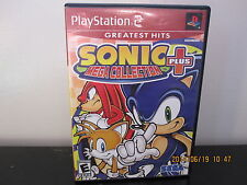 Sonic Mega Collection Plus  (Sony PlayStation 2, 2004) *Tested/Complete
