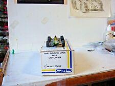 SMTS 1:43 FACTORY BUILT WHITE METAL MODEL OF THE 1965 LOTUS 33, JIM CLARK, No.17