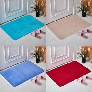 Absorbent Memory Foam Carpet Bath Bathroom Bedroom Rug Non Slip  Shower Mat