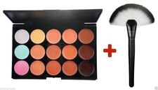 15 Colors Concealer Palette kit with Brush Face Makeup Contour Cream