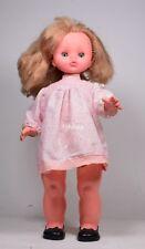 Vintage bambola doll poupee vinile ItaloCremona '79 Rossana parla e cammina -11D