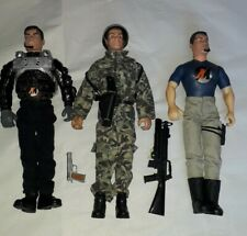 Action Man GI Joe Bundle Action Figures By Hasbro Vintage Plus Accessories