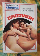 EROTIKON COLLANA DI CINEMA CENTINAIA DI FOTO INEDITE EROTISMO SEXY NUDI B/N