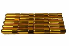 20x gold lug nuts for Ford Mazda Mitsubishi Toyota for steel wheel 12x1.50