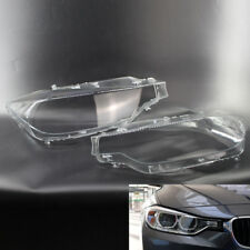Car Headlight Lens Cover Fit For BMW F30 F31 F35 11-2017 ABS