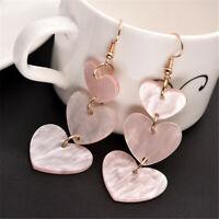 Women Acrylic Geometric Dangle Drop Resin Ear Stud Earrings Party Jewellery KS