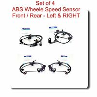 4X ABS Wheel Speed Sensor Front-Rear - Left & Right Fits Caliber Compass Patriot