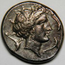 Sicily Lilybaion AR tetradrachm circa 330-305 BC XF [16.81 grams, 26 mm]