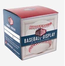 BallQube Brand Baseball Holder (No Cradle) Cube Stackable Display Case USA Made