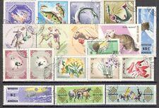 R9925 - MONGOLIA 1966 - LOTTO 18 TEMATICI DIFFERENTI DEL PERIODO - VEDI FOTO