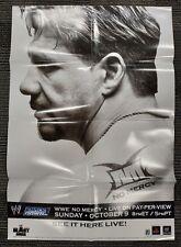 "WWE Smack Down NO MERCY PPV Poster 27""x39"" 2005 Eddie Guerrero RARE PIECE"
