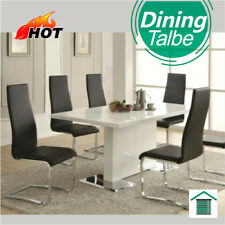NEW White Hi High Gloss Modern Contemporary Dining Table Top 160cm