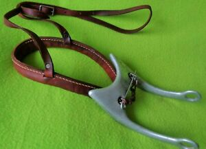 Mike QUICK Vintage QuickStop~Fast Stop~Hackamore Bosal Training Device Bit~NICE