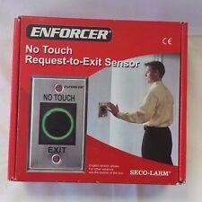 Seco-Larm Enforcer No Touch Request-to-Exit Sensor, English [Sd-927Pkc-Neq]
