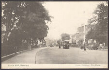 More details for reading, berks. tram & 5 horse drawn wagons in castle hill. 1904 reading posted