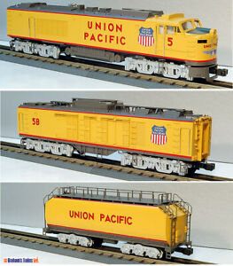 MTH O GAUGE # MT-2124LP UNION PACIFIC TURBINE DIESEL ENGINE SET - NEW!!