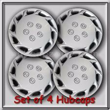 """Set of 4 14"""" Silver Toyota Camry Hubcaps 1997-1999 Replica Camry Wheel Covers"""