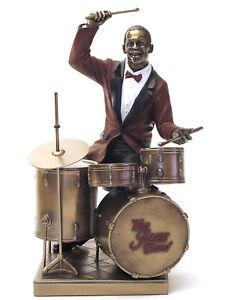 Jazz Musicians le Monde du Jazz Drummer Drums Drummer Figurine 20045A