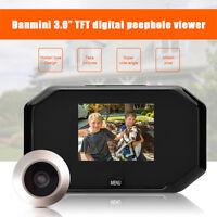 """3"""" Handy LCD Digital Peephole Viewer Door Eye Doorbell HD Camera Home Door Bell"""