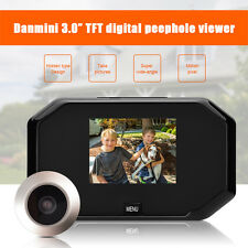 "3"" Handy LCD Digital Peephole Viewer Door Eye Doorbell HD Camera Home Door Bell"