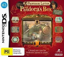 Professor Layton and Pandora's Box (Diabolical Box) NDS DS Lite DSi XL Brand New