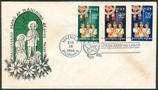 1968 Philippines MALIGAYANG PASKO AT MANIGONG BAGONG TAON First Day Cover