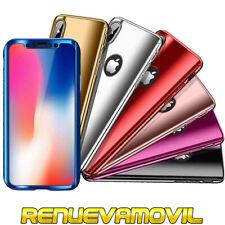 Funda Carcasa Espejo Dura 360 Cubre Completo Para iPhone 7 8 / 7 8 Plus Cristal