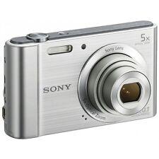Cámara Digital Sony Cybershot W800 - 20MP Zoom 5 Compacta-Plata-Nuevo