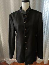ZARA MAN MILITARY BLAZER BLACK  REF. 0706/170 size EUR 50/US 40/MEX 50 jacket