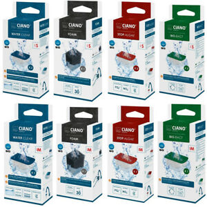 Ciano Replacement Filter Foams Cartridges CF20 CF40 CF80 Small Medium