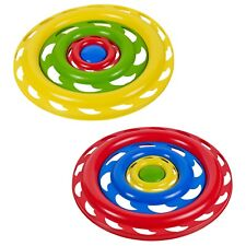 Kids 3 Piece Flying Disk Frisbee Family Toy Outdoor Summer Beach Game Play Fun